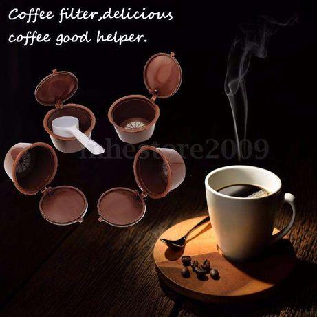 Cápsulas de café recarregáveis para máquinas Dolce Gusto