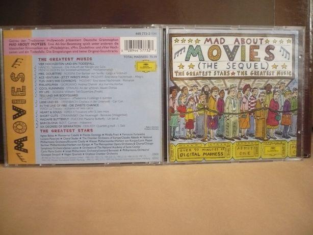 Sprzedam płytę CD Mad about movies Zobacz ! Made i USA !