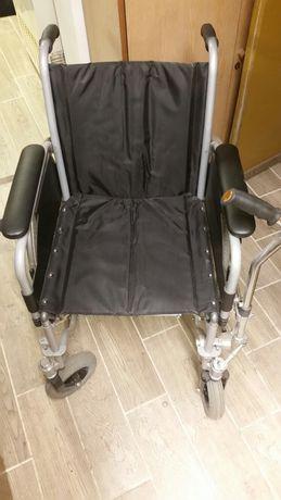 Wózek inwalidzki z napędem i kierowaniem na lewą rękę ekskluzywny!