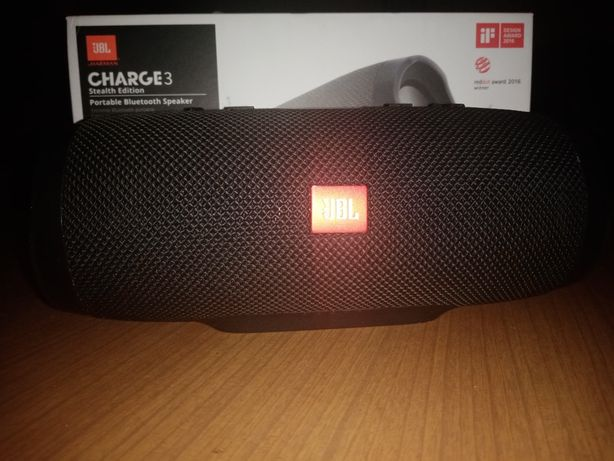 Jbl charge 3 stealtch edition