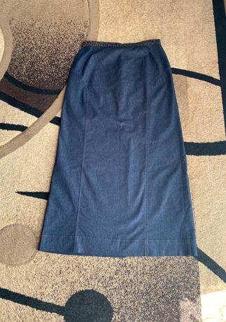 Długa spódnica jeansowa Vunic rozm. 38