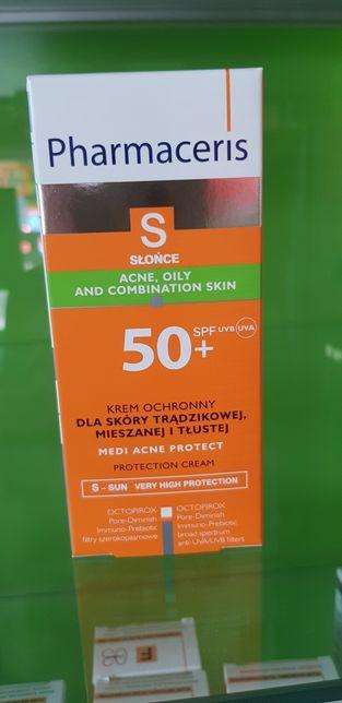 Pharmaceris S krem ochronny do skóry trądzikowej SPF 50