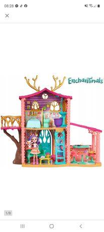 Domek Enchantimals i 1 lalka w zestawie