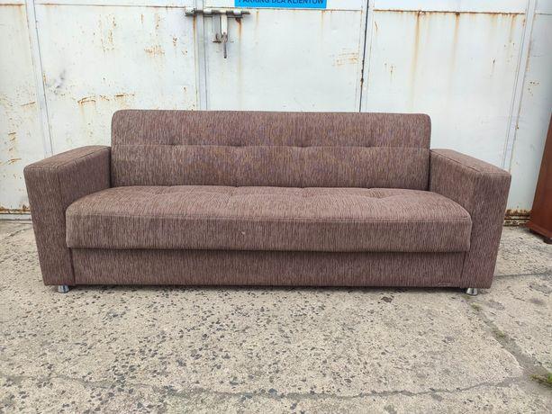 Sofa kanapa rozkładana Istikbal, brąz