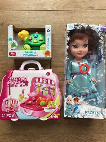 Zestaw zabawek, Frozen,kuchnia