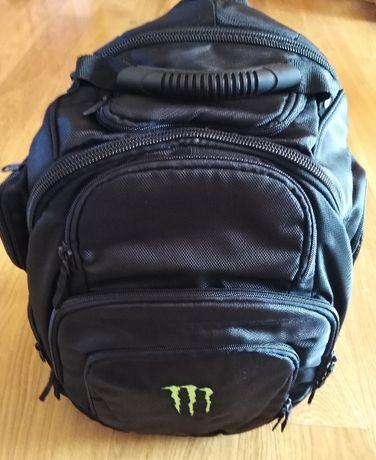 Solidny plecak z logo Monster, NOWY!