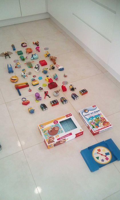Zestaw zabawek+gra+puzzle trefll Nysa - image 1