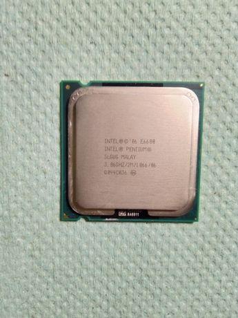 Intel Pentium E6600 (3.06ghz) Socket 775, процессор
