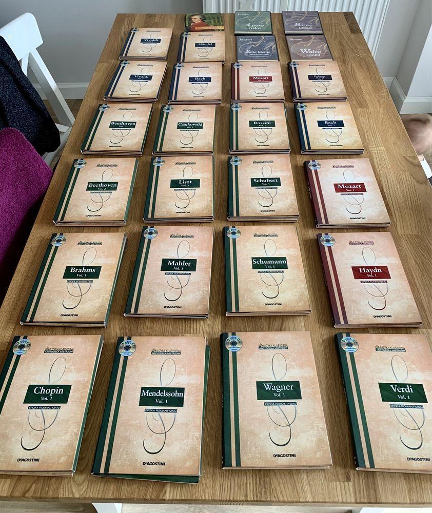 Muzyka Mistrzów - Kolekcja Muzyki Klasycznej - 225 Płyt CD - okazja!