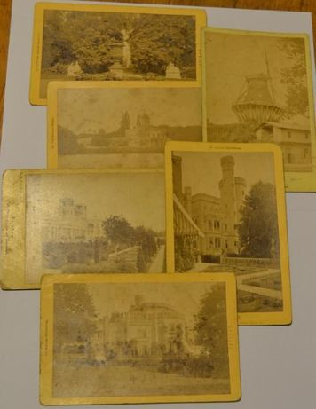 Potsdam - alemanha - 6 fotografias em papel de albumina - raro