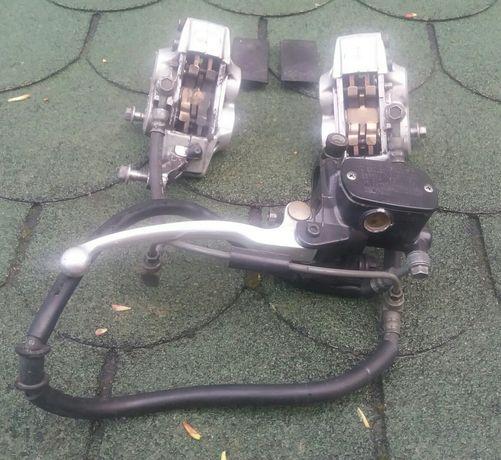 Układ hamulcowy TDM 850 zaciski + przewód