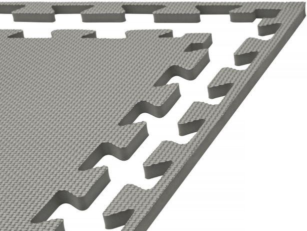 MATA Puzzle Piankowa 1cm XXL Bezpieczna dla dziecka do ćwiczeń SZARA