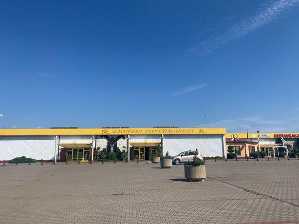 Hala w centrum handlowym u GRUBEGO Wielogora 300 m zjazd z E7!!