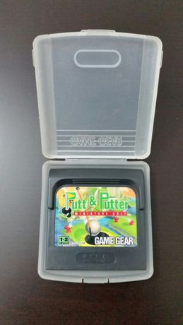 Jogo Game Gear Putt & Putter miniature golf