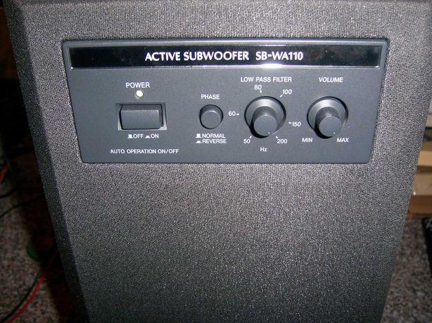 Subwoofer Ativo PANASONIC SB-WA 110