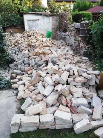 Oddam cegły rozbiurkowe za darmo