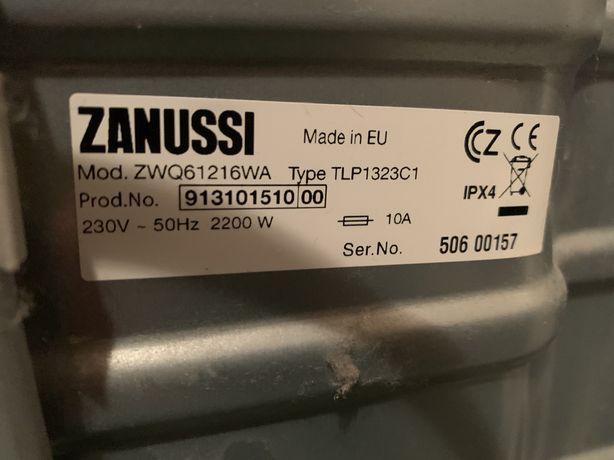 Sprzedam pralkę Zanussi ZWQ61216WA na cześci uszkodzona