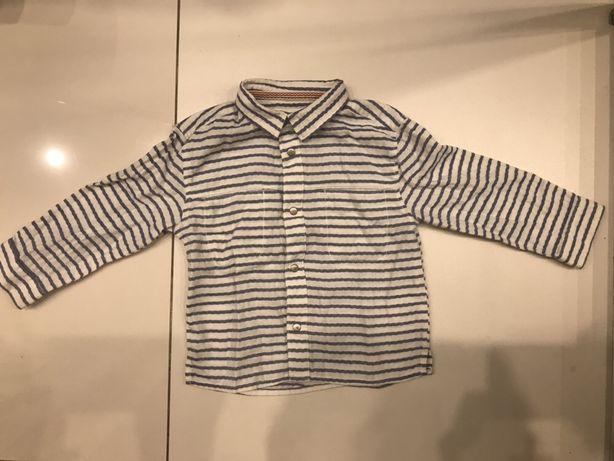 Рубашка zara на мальчика 12-18 месяцев