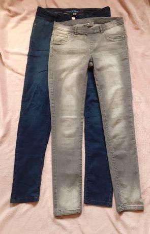 Spodnie rurki dla wysokiej
