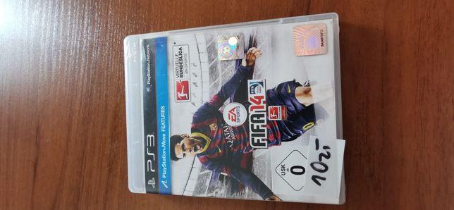 Gra ps3 FIFA 14 płyta nie jest w idealnym stanie ale działa