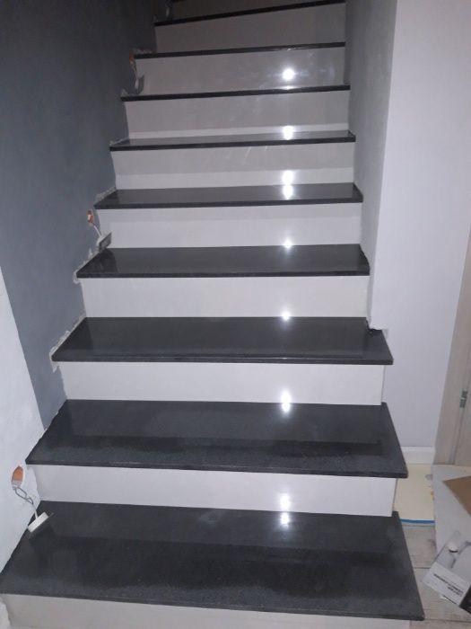 schody z granitu marmuru