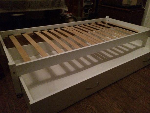 Rama łóżka z szufladą 85 x 185