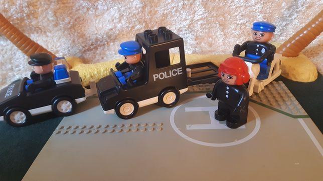 klocki lego DUPLO policjanci unikat