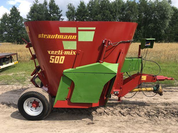 Wóz Paszowy Paszowóz Strautmann 500, 5m3