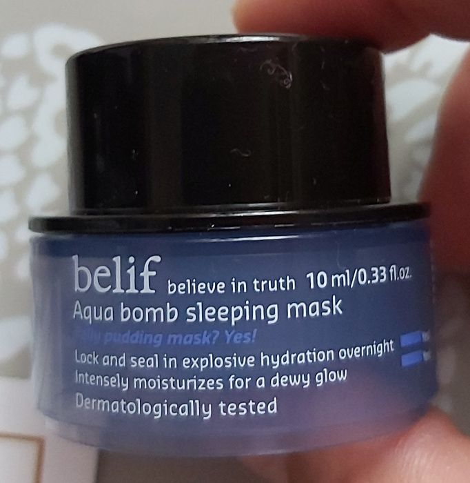 Belif Aqua bomb sleeping mask maseczka 10 ml Krynica-Zdrój - image 1