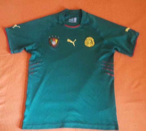 Koszulka pilkarska Kamerun 2004/05 Puma M?