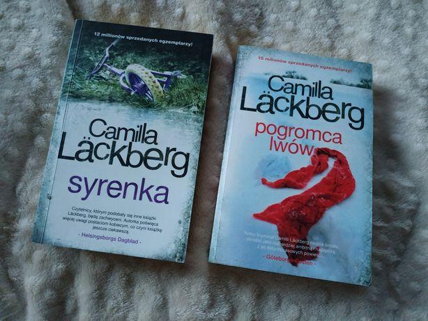 """Kryminały Camilla Läckberg """"Syrenka"""" i """"Pogromca lwów"""""""