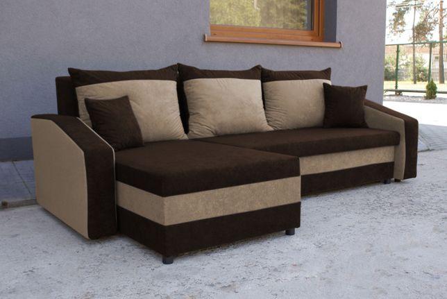 Narożnik z funkcją spania Grand Kanapa Sofa rogówka