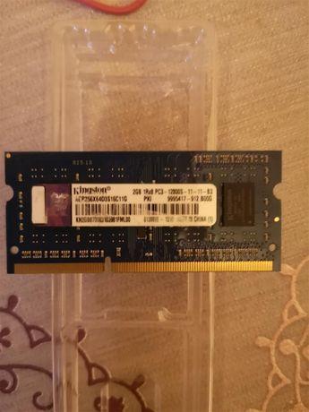 Pamięć RAM Kingston 2GB DDR3 do Laptopa/Netbooka - 1600MHz, Sprawna