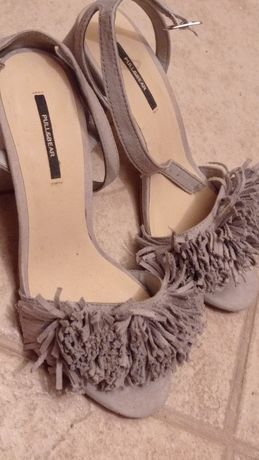 Sandália cinza da Pull