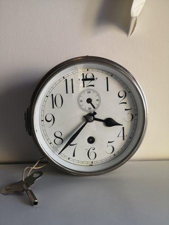 zabytkowy zegar okrętowy XIX wiek antyk wystrój