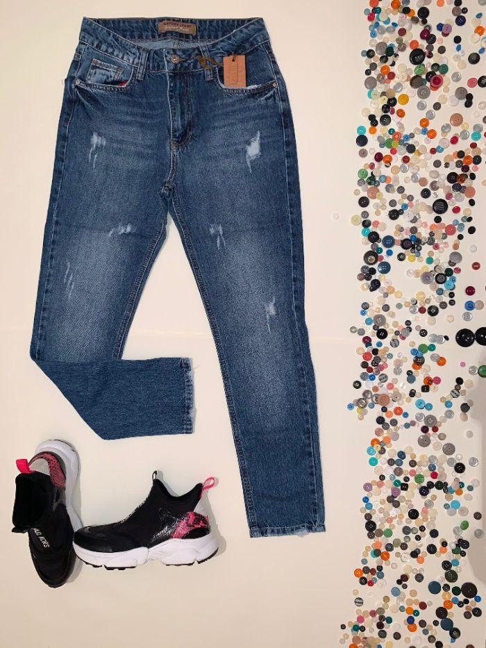 Женские джинсы с облегающей модели Запорожье - изображение 1