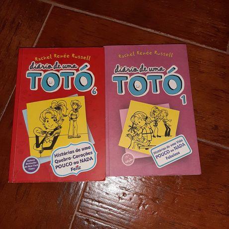 Livro Diário de uma Totó (N°1,6)