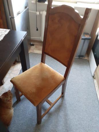 Krzesla dębowe 4 szt,70 zł za sztukę