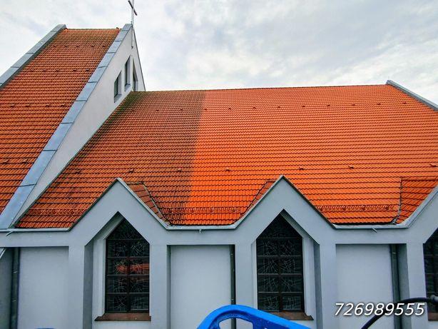 NISKIE CENY! Profesjonalne mycie dachów, kostek i elewacji