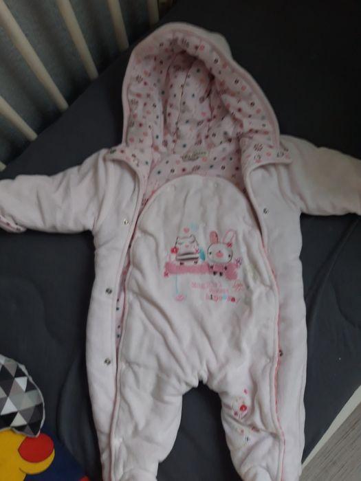 Kombinezon niemowlęcy dziewczęcy 56-62 Słupsk - image 1