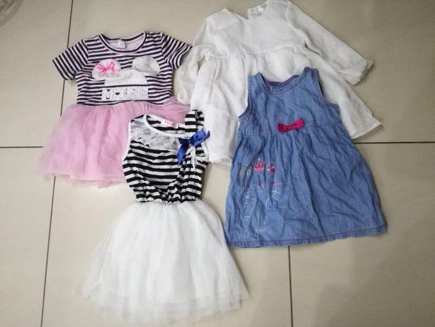 Sprzedam ubranka dla dziewczynki roz. 86-92