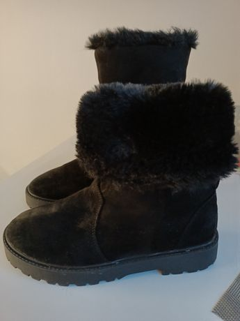 Buty ocieplane Zara