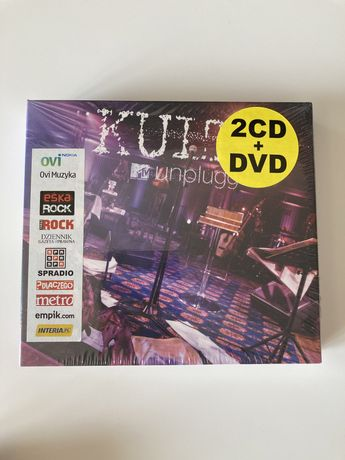 Kult MTV Unplugged 2CD + DVD, nowe w folii!