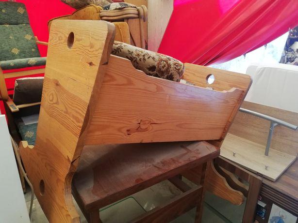 Kołyska sosnowa łóżeczko dla dziecka