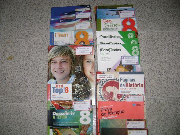 Livros Manuais Escolares 8º ano 3º ciclo
