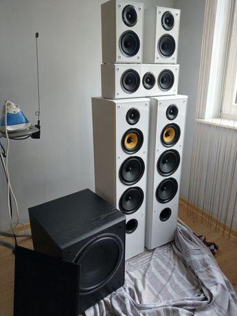Głośniki 5.1 Taga 606v3 I Magnat sub 302a