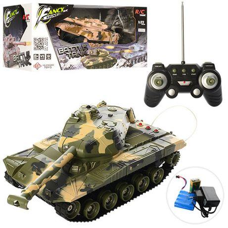 Танк на радио управлении танковый бой Battle Tank 1:32 Качество!
