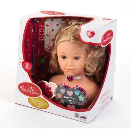 Duża Głowa do stylizacji Klein lalka do czesania i malowania