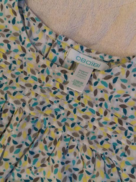 Koszula, bluzka, Okaidi, rozmiar 86, 23m