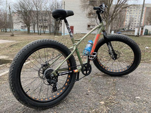 Продам FatBike( ФэтБайк) Велосипед 17 рама колеса 26X4.0